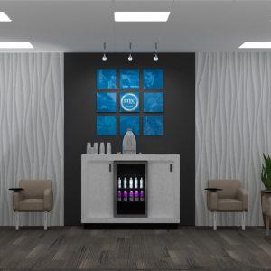 Client waiting area design concept