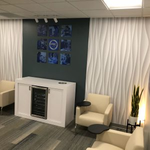 Client Waiting Area Finished concept