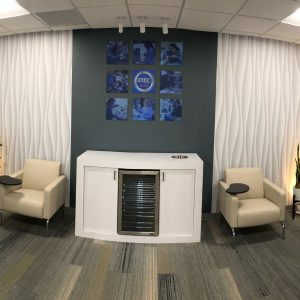Client waiting area design