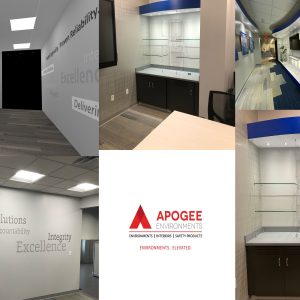 branded corporate environment
