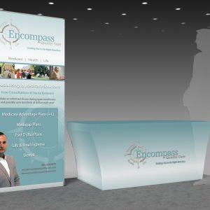 Portable displays, graphic design